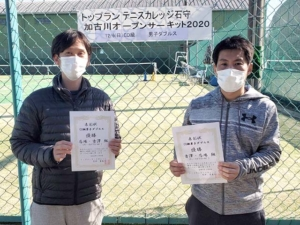 CD級男子ダブルス大会結果