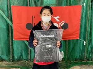 T.I.F Jr.テニスサーキット第1戦大会結果