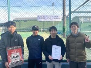 オープン男子ダブルス団体戦大会結果
