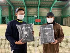 T.I.F 初心級男子ダブルス大会結果
