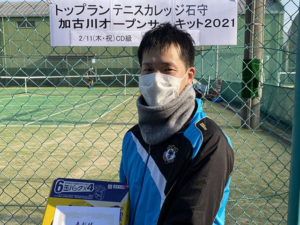 CD級男子シングルス大会結果