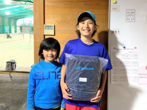 T.I.F Jr.テニスサーキット第3戦大会結果